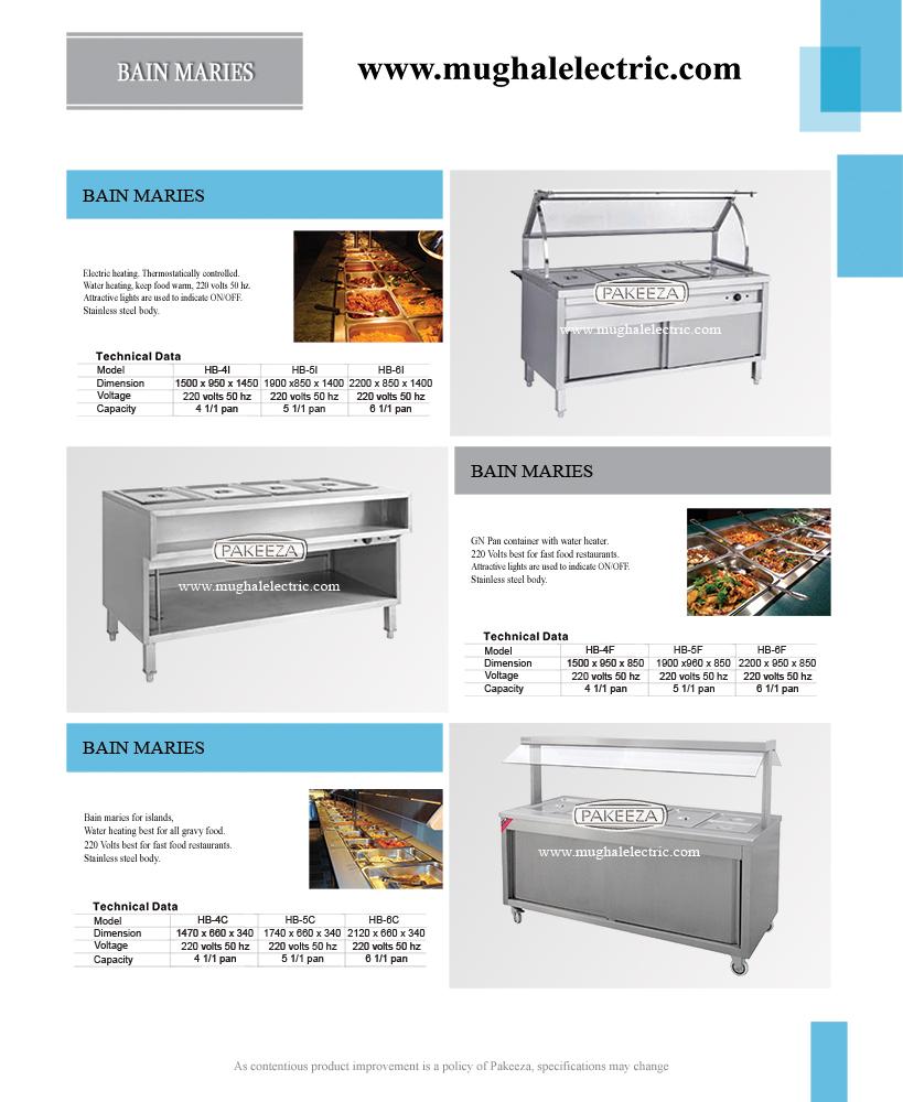 BAIN MARIES HB-6I | Commercial Kitchen Equipment